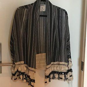 Zara fringe jacket